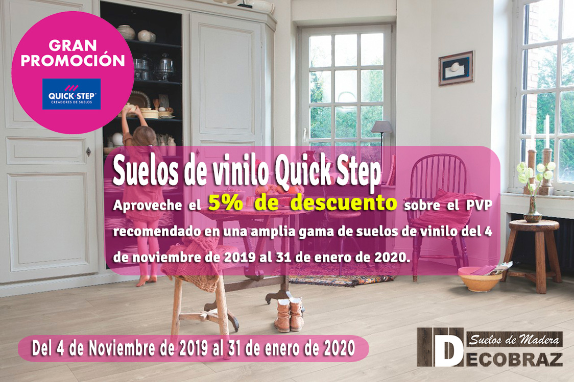 oferta decobraz Quick Step